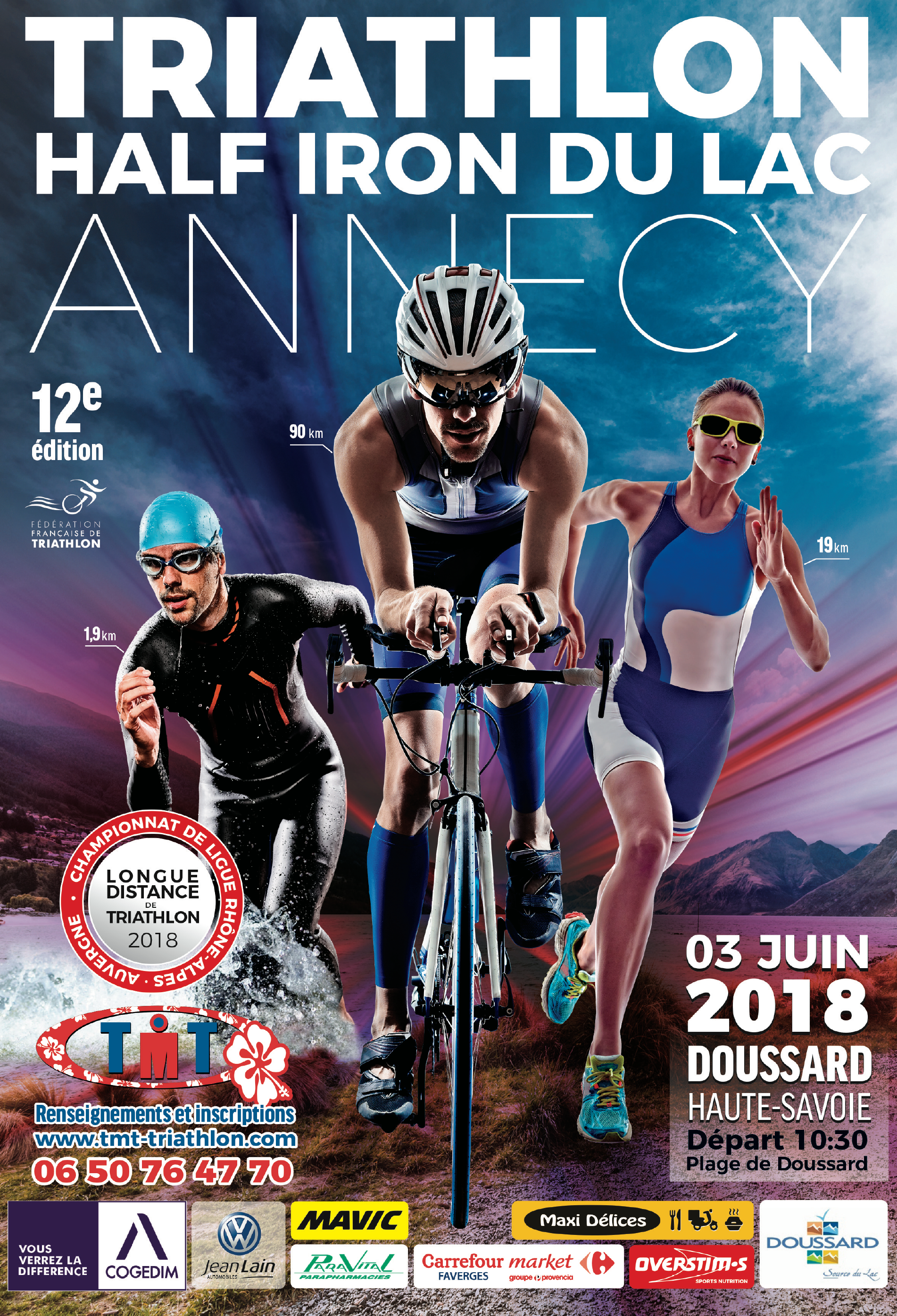 triathlon 3 juin 2018